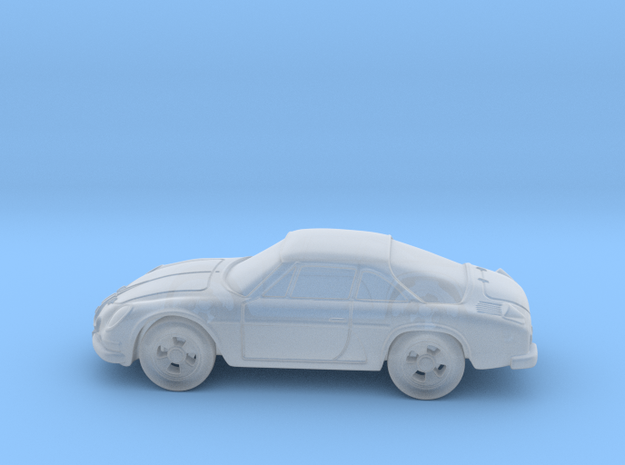 Renault a110 Alpine 1:160 N in Smooth Fine Detail Plastic