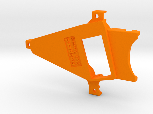 PSNS00801 motor mount for NSR chassis (13D) OF0 in Orange Processed Versatile Plastic