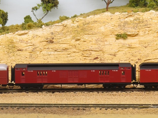 Joint Stock CE Van in Smoothest Fine Detail Plastic