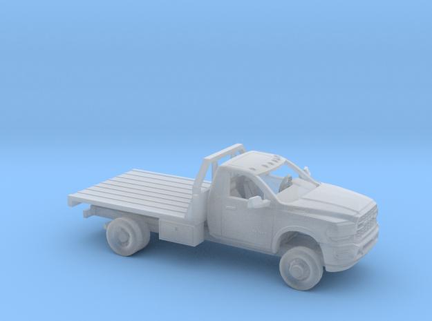 1/87 2020 Dodge Ram Regular Cab Flatbed Kit in Smooth Fine Detail Plastic
