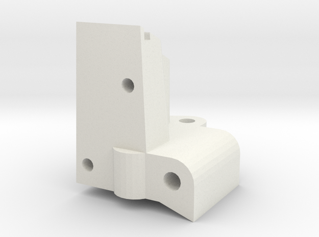 TRAXXAS TRX1 FRONT RIGHT BULKHEAD in White Natural Versatile Plastic
