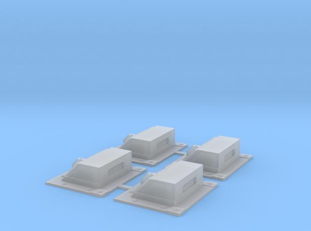 1:12 laserwarner ANAVR2A - 4pcs.  in Smooth Fine Detail Plastic