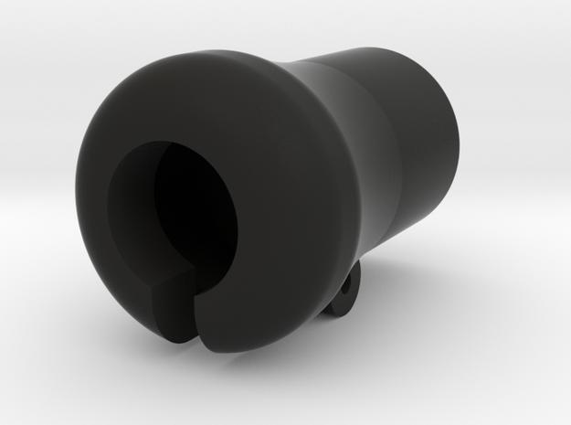 P51 canopy crank handle knob in Black Natural Versatile Plastic