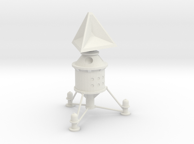 Lost in Space Equipment - Communications Array in White Natural Versatile Plastic