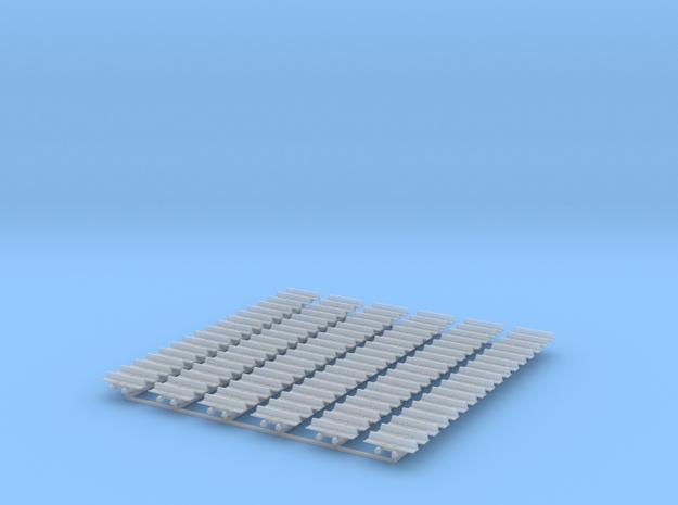 Kette 1 steg 810 mm innen 4,5mm in Smooth Fine Detail Plastic