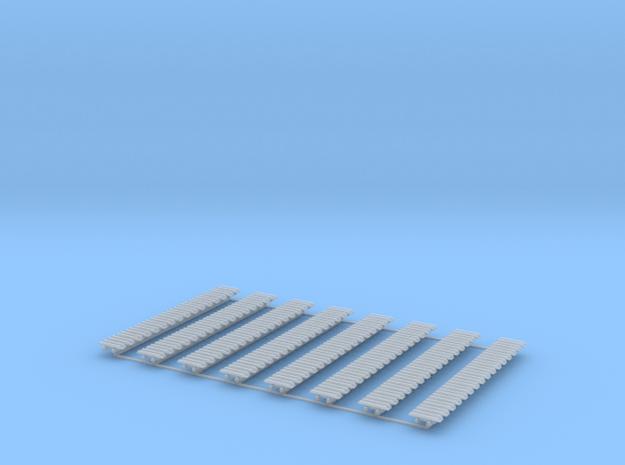Kette 2 steg 14mm (700 mm) innen 5 mm 1:50, 128 Gl in Smooth Fine Detail Plastic