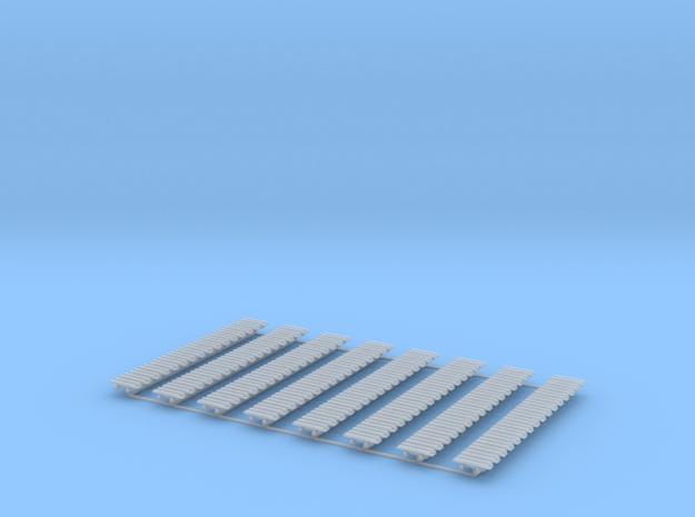 Kette 2 steg 16mm (800 mm) innen 5mm 1:50 128 Glie in Smooth Fine Detail Plastic