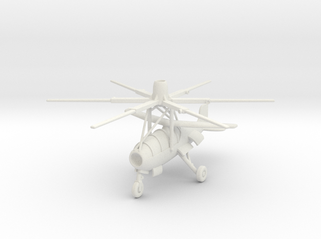 (1:144) Theodor Laufer's VE-RO (Vertical mode) in White Natural Versatile Plastic