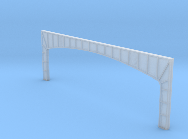 Arched Main Girder - 72' long, level (N-scale) in Smooth Fine Detail Plastic