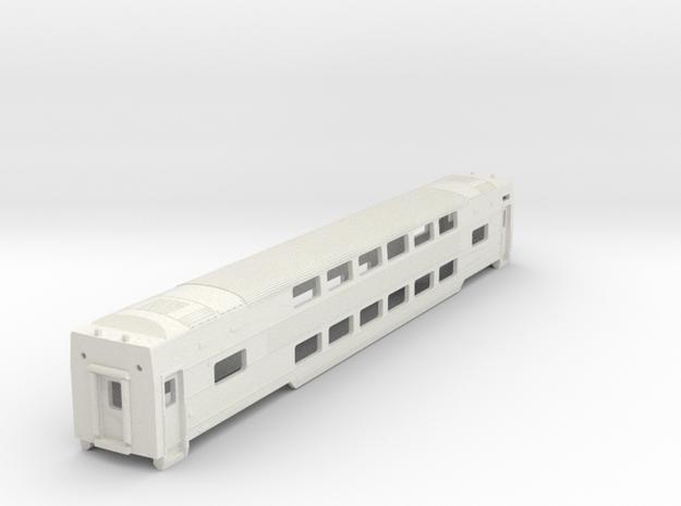 MARC III Coach (asymmetrical Skirting) in White Natural Versatile Plastic