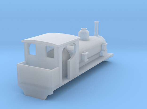 009 WHR Loco Beddegelert in Smooth Fine Detail Plastic