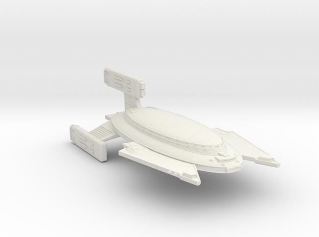 3788 Scale Vudar Heavy Battlecruiser (BCH) MGL in White Natural Versatile Plastic