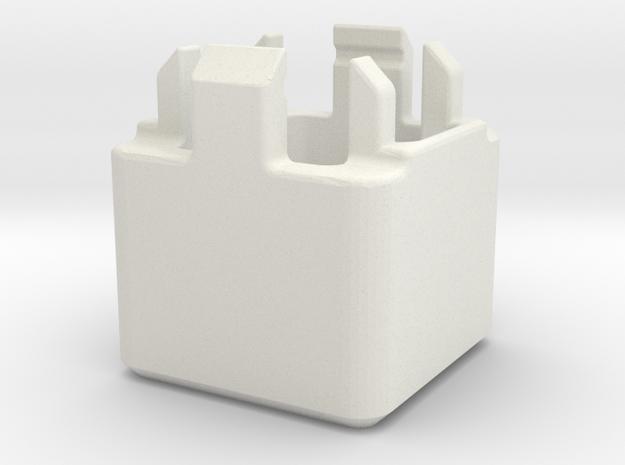 Cherry MX key switch opener / popper in White Natural Versatile Plastic
