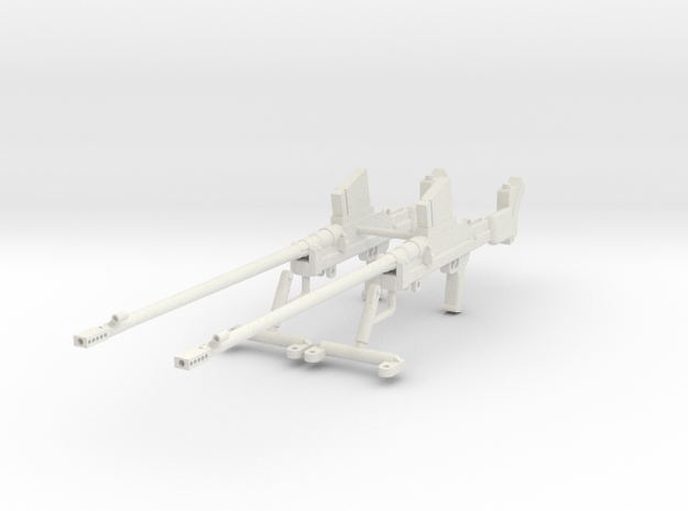 1:16 Boys Anti-Tank Rifle Mark I* - Set in White Natural Versatile Plastic