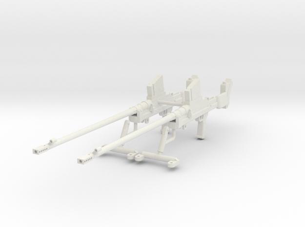 1:18 Boys Anti-Tank Rifle Mark I* - Set in White Natural Versatile Plastic