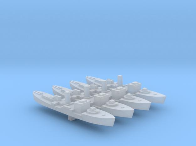 4pk sprue Early Flower class corvette 1:2400 WW2 in Smooth Fine Detail Plastic
