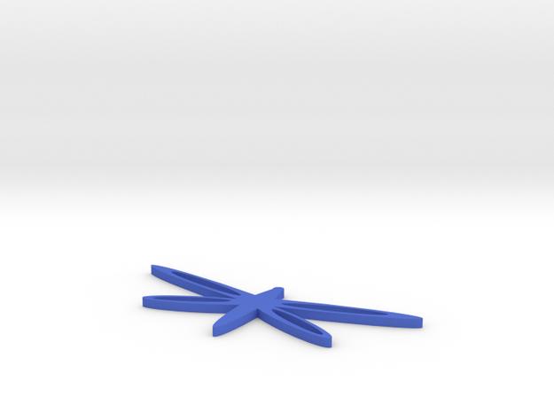 DragonflyBracelet in Blue Processed Versatile Plastic