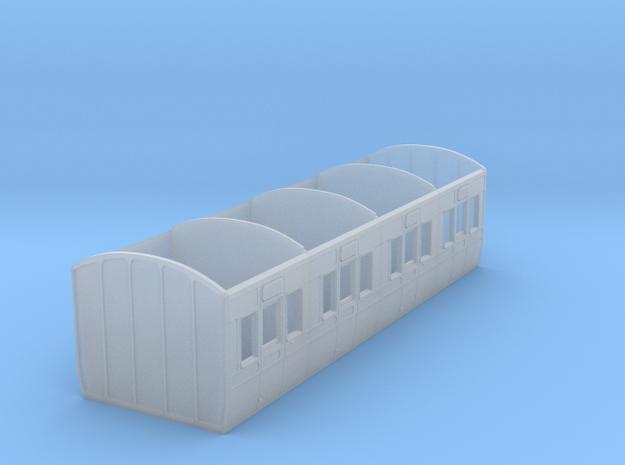GWR dean carriage diagram U10 4mm in Smooth Fine Detail Plastic