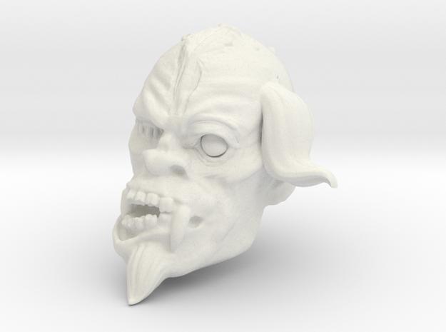 Maleob the Crusher in White Natural Versatile Plastic