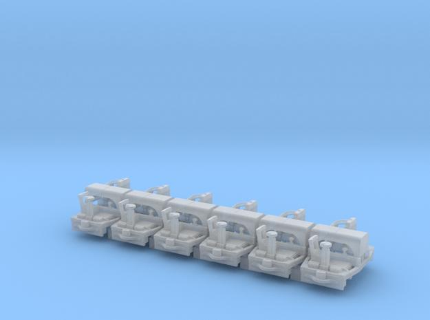 A-1-160-20hp-simplex-1a in Smooth Fine Detail Plastic