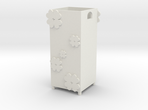 happiness blossom in White Natural Versatile Plastic
