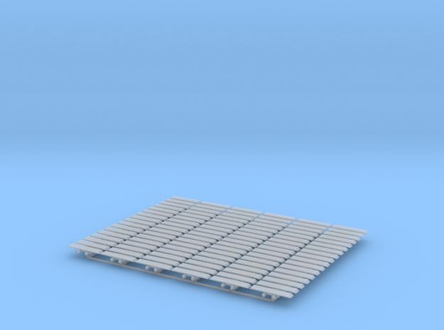 Kette 3 steg 24mm (=1200 mm) innenbreite 5mm 1:50 in Smooth Fine Detail Plastic