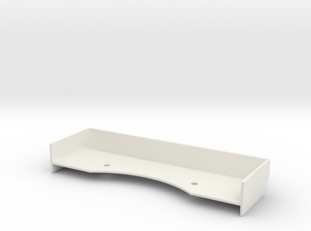 Mini-Z Spoiler v2-R8 in White Natural Versatile Plastic