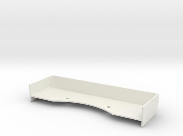 Mini-Z Spoiler v2-12C GT3 in White Natural Versatile Plastic