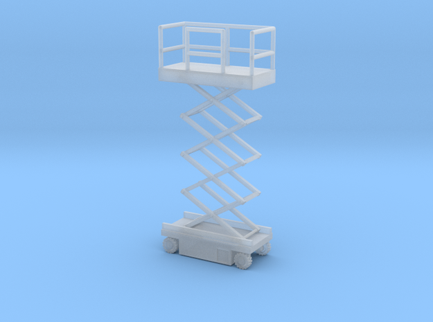 JLG Scissor Lift - Middle Position - 1:72scale in Smooth Fine Detail Plastic