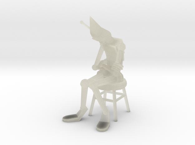 Dunce Robot 3d printed