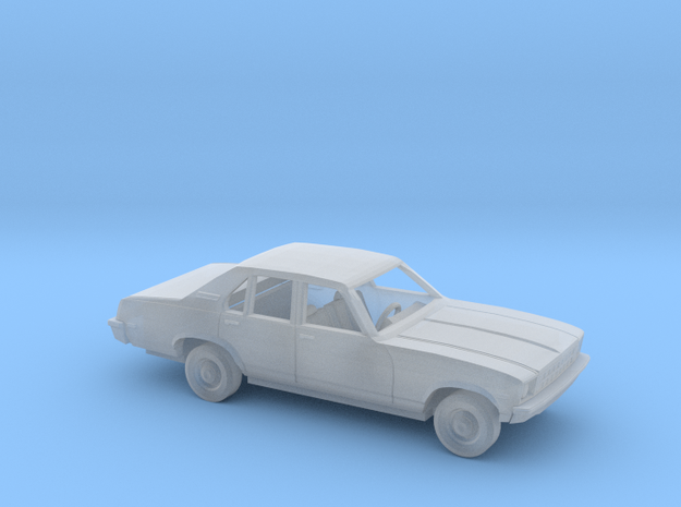 1/64 1977 Chevrolet Nova Sedan Kit in Smooth Fine Detail Plastic