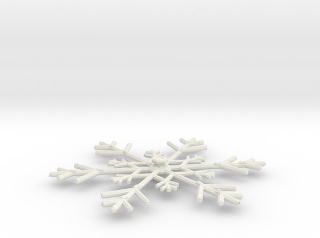 3788 Scale North Polar Snow Command Cruiser SRZ in White Natural Versatile Plastic