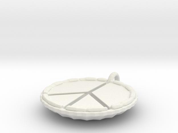Make Pie Not War 3d printed