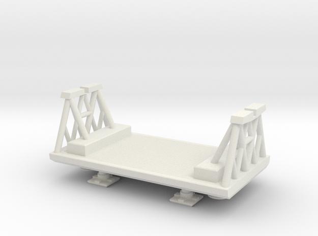Konami Eagle - Freighter/Winch Pod in White Natural Versatile Plastic