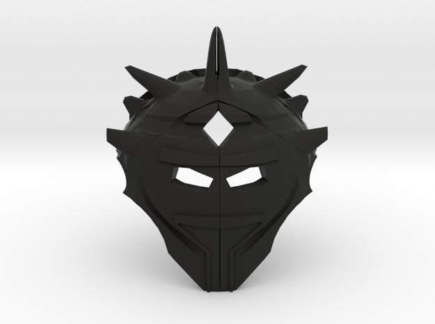Mask of Reality Warping  in Black Natural Versatile Plastic