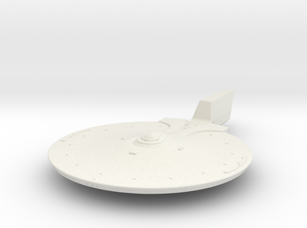 Federation Abbe class Upper Hull 1/1000 scale part