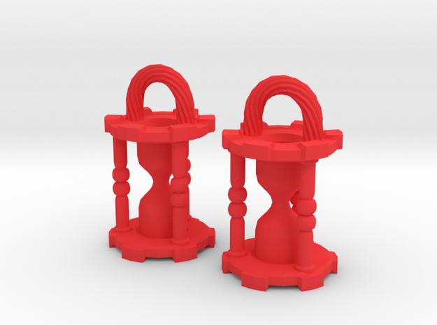 HourglassEarringsSmall 3d printed