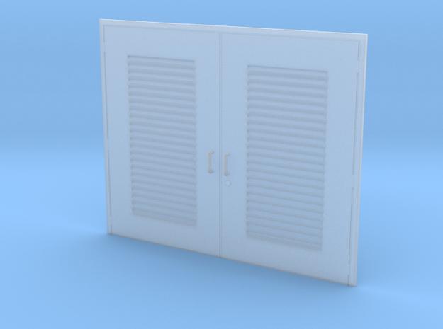 '1-50' Scale - Double Door - Vent in Smooth Fine Detail Plastic