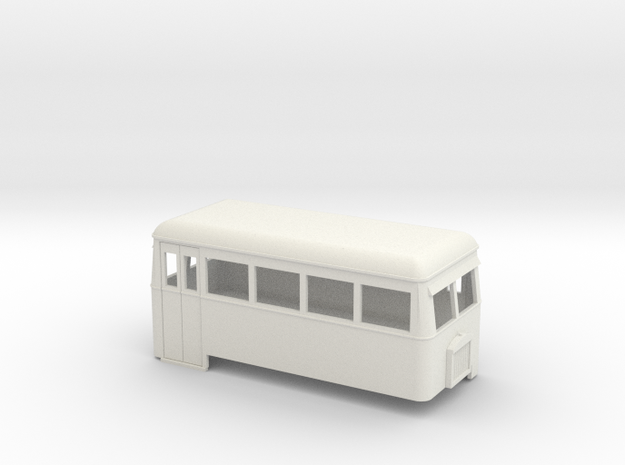 009 short double-ended railbus