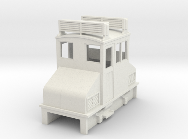 OO9 Cheap and Easy Early IC loco US Steeplecab 3d printed