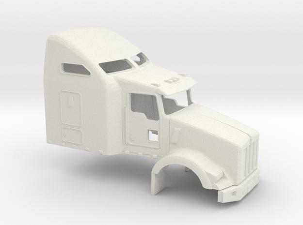 1/32 Kenworth T 800 Cab-Sleeper in White Natural Versatile Plastic