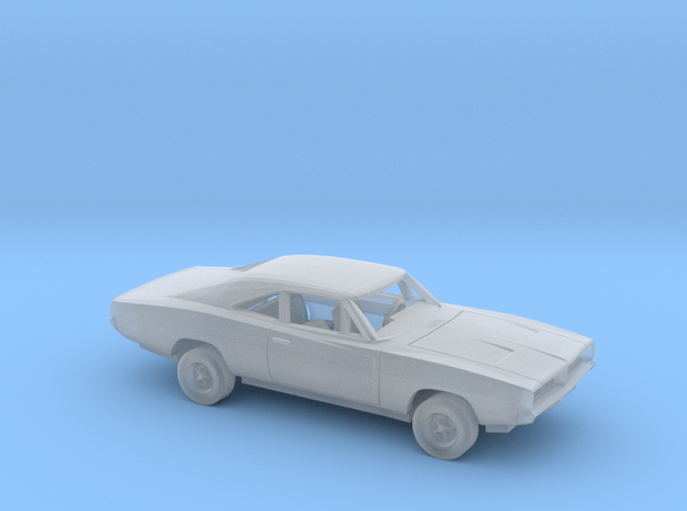 1/160 1969 Dodge  Charger Kit in Smooth Fine Detail Plastic