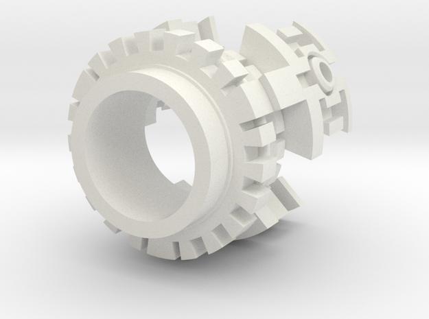 Plasma Gate Insert C in White Natural Versatile Plastic