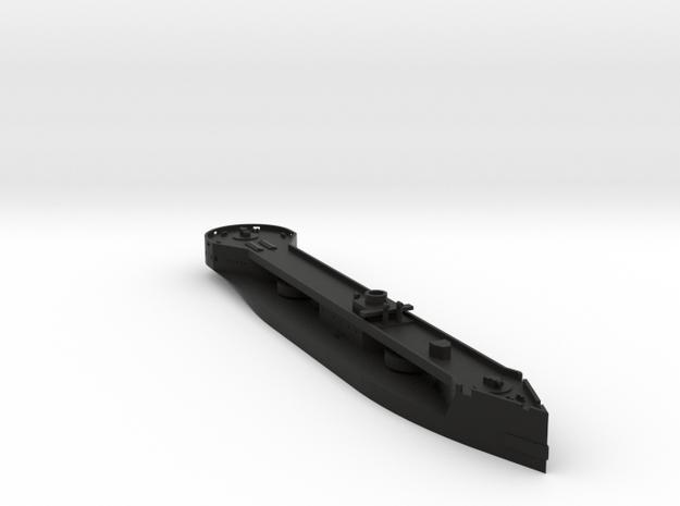 HMS Captain 1/700 Stripped in Black Natural Versatile Plastic