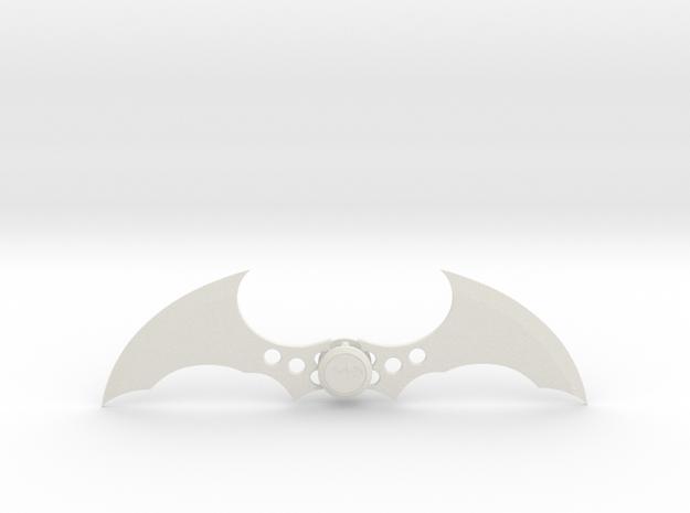 Batman Arkham Series Batarang in White Natural Versatile Plastic