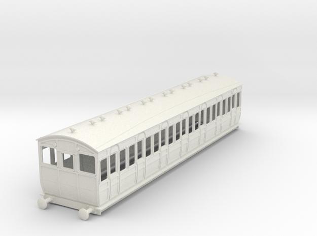 o-32-met-ashbury-bogie-third-class-driver-coach in White Natural Versatile Plastic