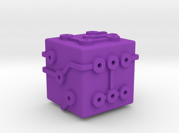 Circuit Die (Small) 3d printed