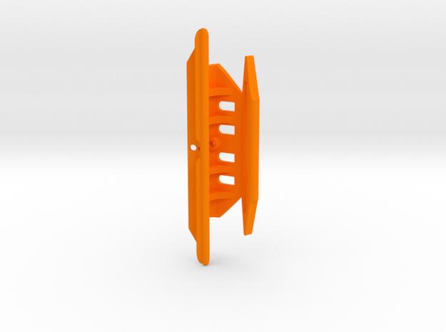 Precision-18, 3.75inch, DM375 in Orange Processed Versatile Plastic