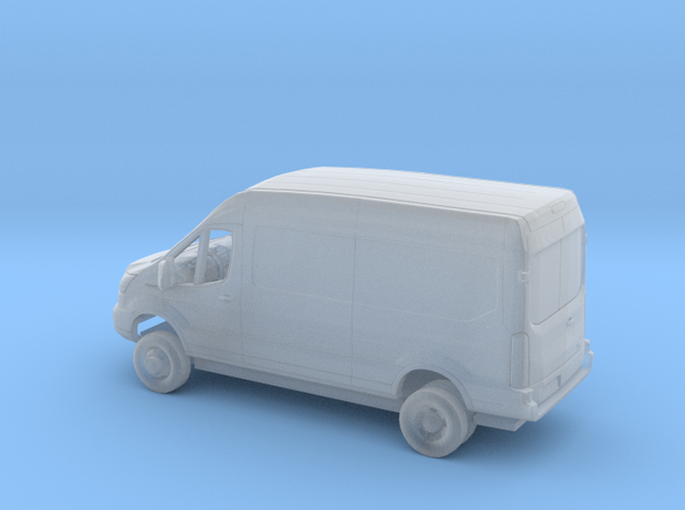 1/160  2018 Ford Transit Mid Roof Delivery Dually  in Smooth Fine Detail Plastic