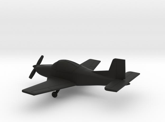 PAC CT/4E Airtrainer in Black Natural Versatile Plastic: 1:100